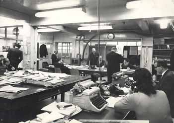Newsrooms have changed over the years - tomorrow we'll tell you how!