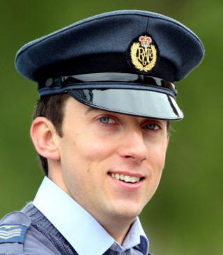 Sgt Andy Seaton, of RAF benson, will be on duty for the Royal Wedding