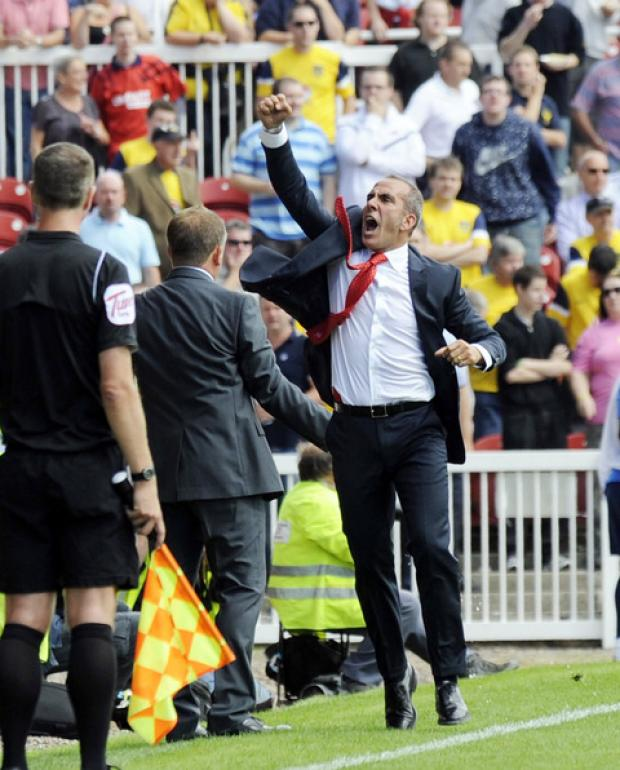 Paolo Di Canio at the County Ground in August