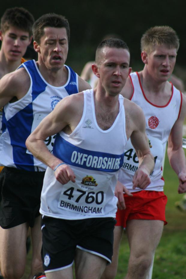 Steve Naylor leads the way for Oxfordshire at Cofton Park
