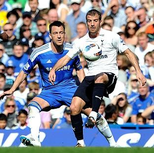 John Terry (left) and Rafael van der Vaart