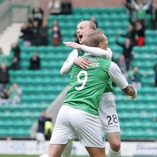 Garry O'Connor and Leigh Griffiths