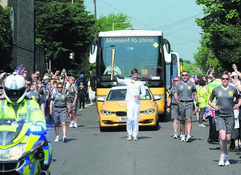 Sam Way carries the torch at Chippenham