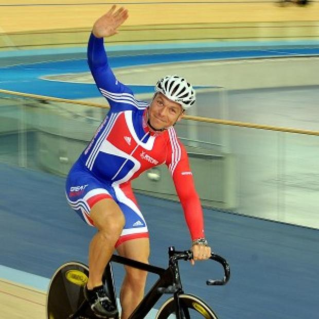 Sir Chris Hoy said he was 'very excited' to have been chosen to carry the Olympic Torch