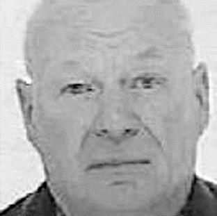 A handout police photo of gunman Peter Reeve, who was found dead in a churchyard