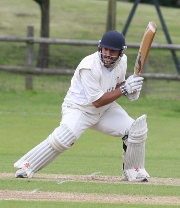 Shipton's captain Simon Hole made a quick-fire 26 before he was caught in the 97-run loss at Dinton