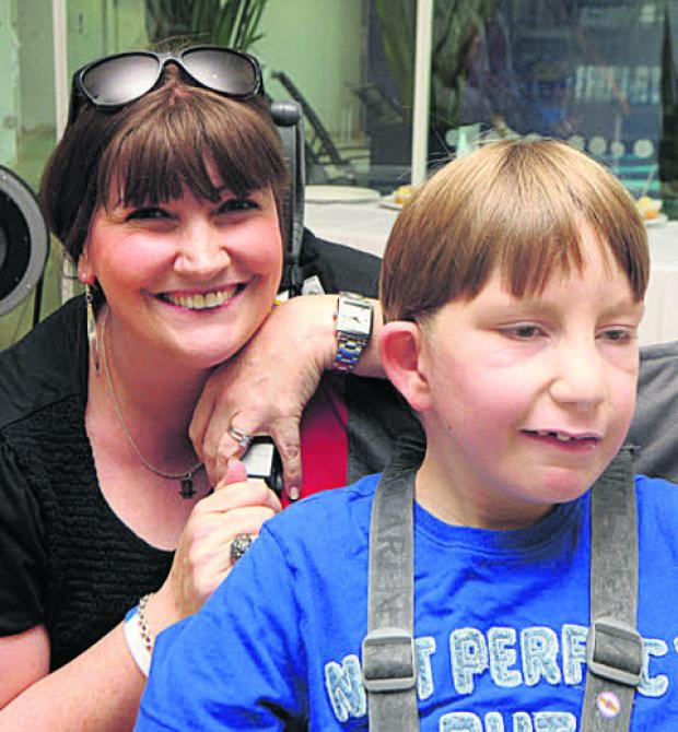 Family humbled by centre's fundraising event