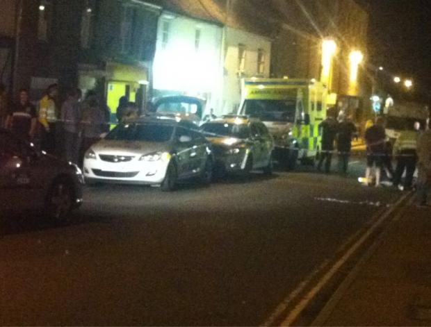 The incident in Corn Street last night, courtesy of GrandmasterSub