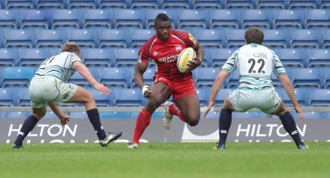 Wing Joe Ajuwa keeps his place in the London Welsh side to face Harlequins tonight