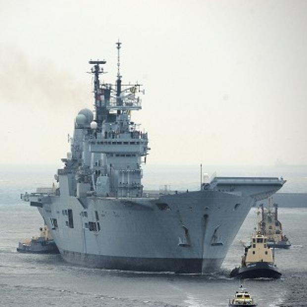 HMS Ark Royal saw action during the Bosnian War in 1993 before being sent to lead the British fleet during the invasion of Iraq a decade later