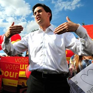 Ed Miliband spoke out against strike action