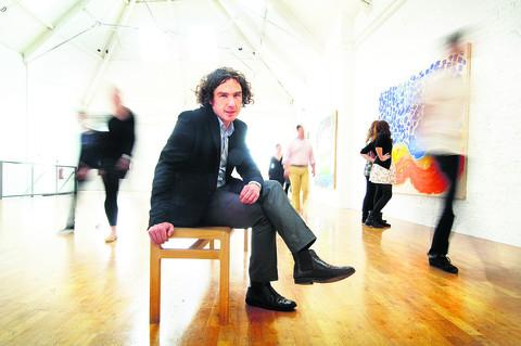 Modern Art Oxford director Michael Stanley, pictured at the Pembroke Street gallery in 2010