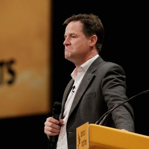 Nick Clegg said the increasing likelihood of coalition government meant parties could no longer guarantee implementing their manifesto in full