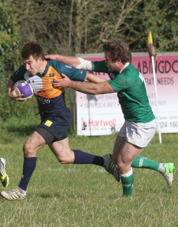 Harry Whittington set up a try for Jack Briggs as Oxford Harlequins defeated Malvern 29-28 in a thriller