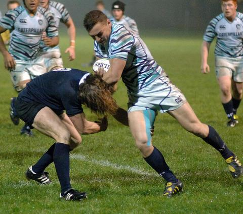 Henry Purdy in action at Iffley Road