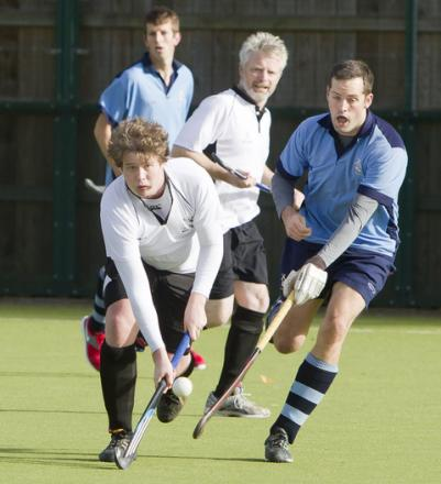 Liam Frost scored Witney Men's goal in their 3-1 defeat by PHC Chiswick