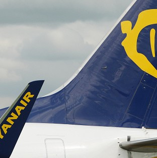 Ryanair hopes to add nine new routes at three airports in England