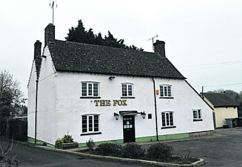 The Fox Inn in Stanton Harcourt