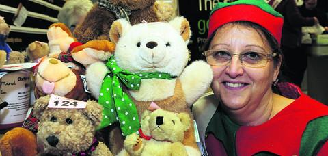 Witney Gazette: Jill May with some of the prizes