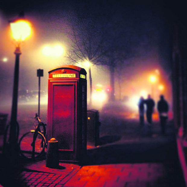 Witney Gazette: A picture of the fog in St Giles taken at 11.30pm on Wednesday by Al Power from Cowley