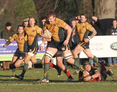 Josh McNally scored for Henley against Clifton
