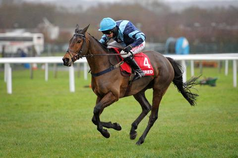 Pete The Feat finished an honourable third in the Betfred Classic Chase at Warwick in his bid for a six-timer