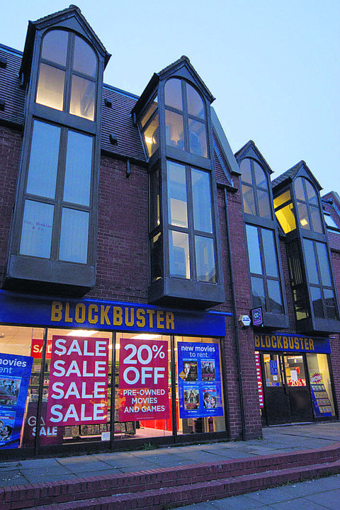 Blockbuster in London Road, Oxford