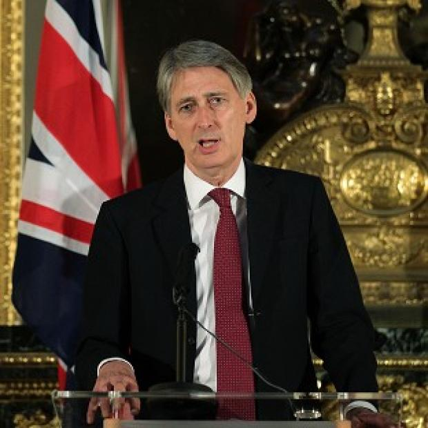 The warning came as Defence Secretary Philip Hammond published a detailed equipment plan for the next 10 years