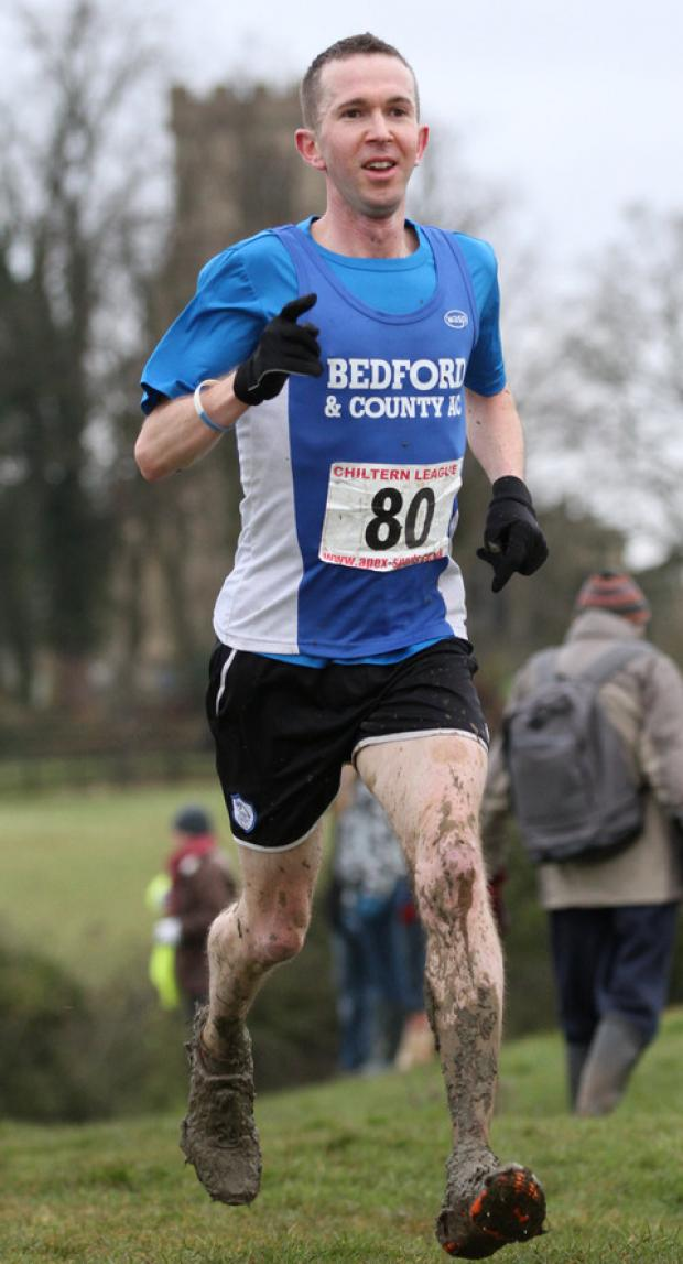 Steve Naylor finishes third in the Chiltern League at Wing to secure the men's title