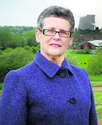 Didcot town council leader Margaret Davies