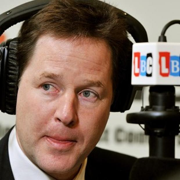 Nick Clegg says a borrowing-fuelled capital spending drive would risk pushing up interest rates