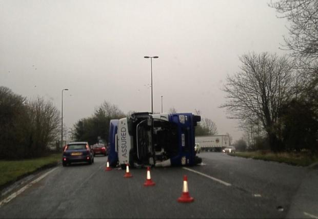 The lorry this morning, from reader Liam Walker