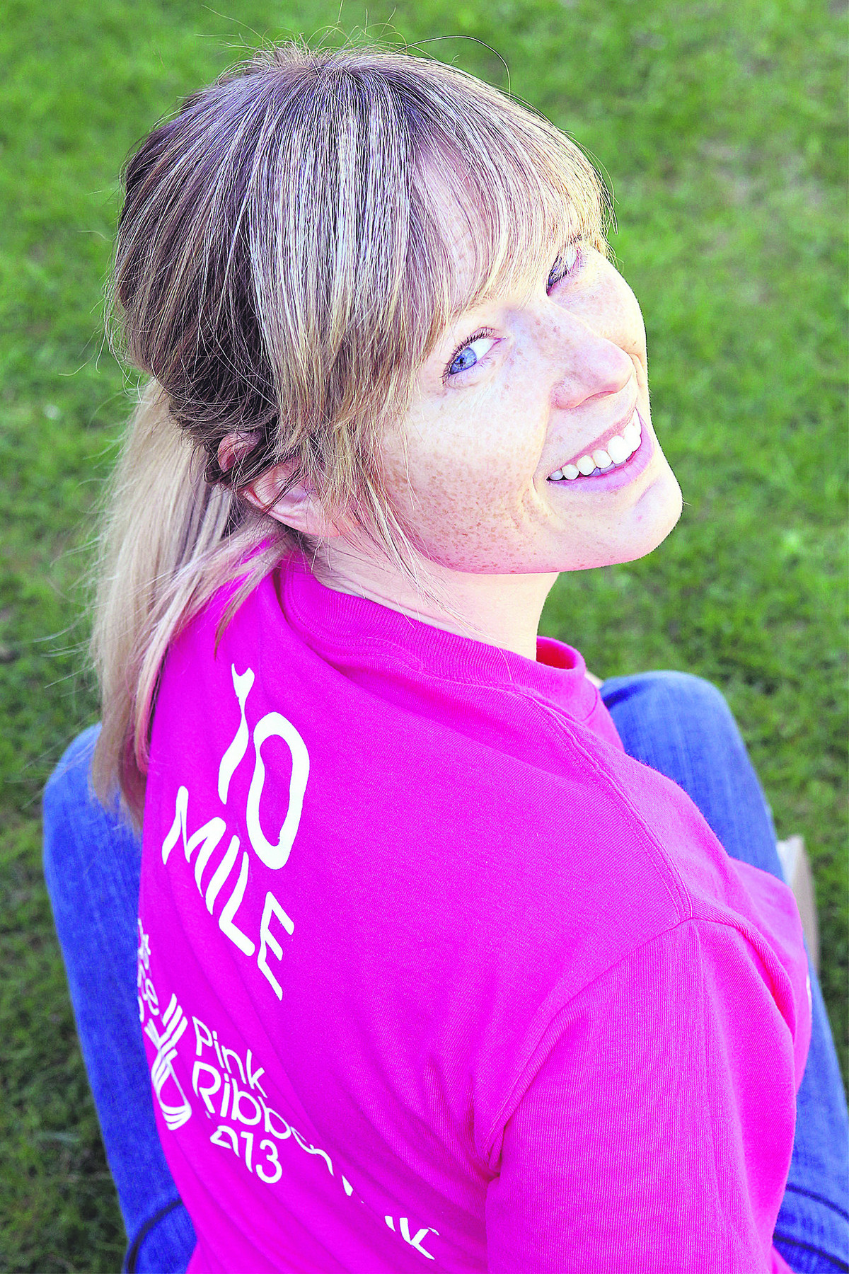 Sam Palfrey is looking forward to completing the Ribbonwalk with her Mum Ella