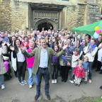 Alexander Armstrong opens the Witney Food Festival