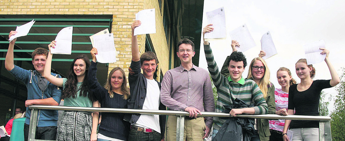 West Oxfordshire GCSE results buck national trends
