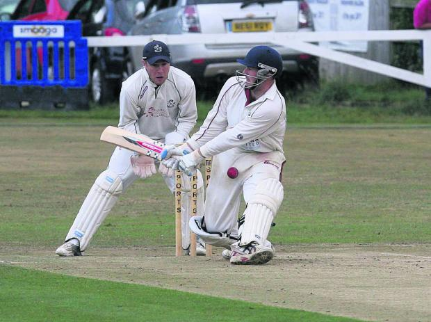 Harry Smith hit 60 off 39 balls in Tew's four-wicket win against Chesham