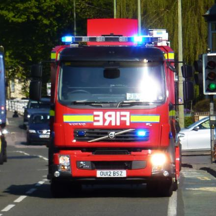 OAP rescued from Witney fire