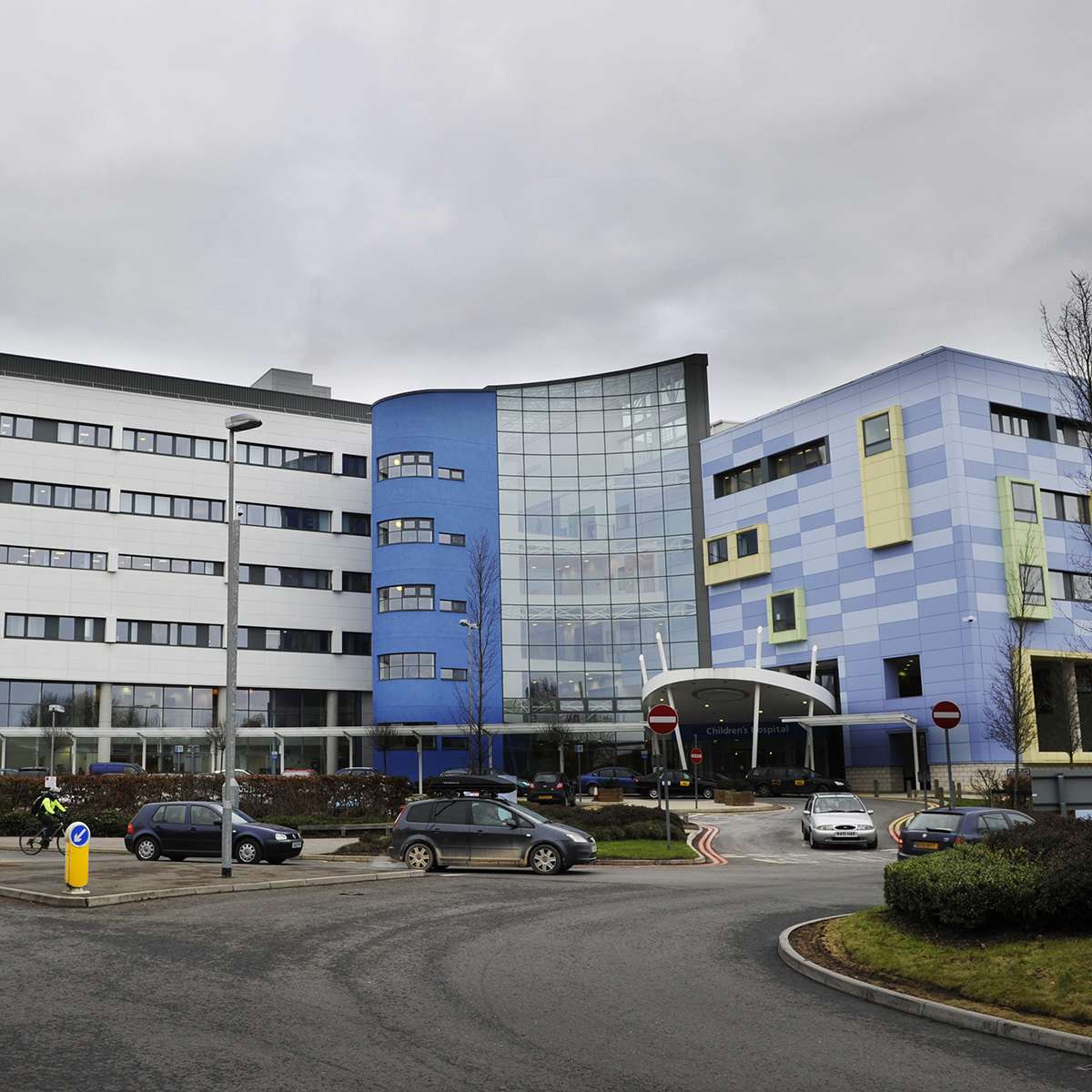 One man was taken to Oxford's John Radcliffe Hospital