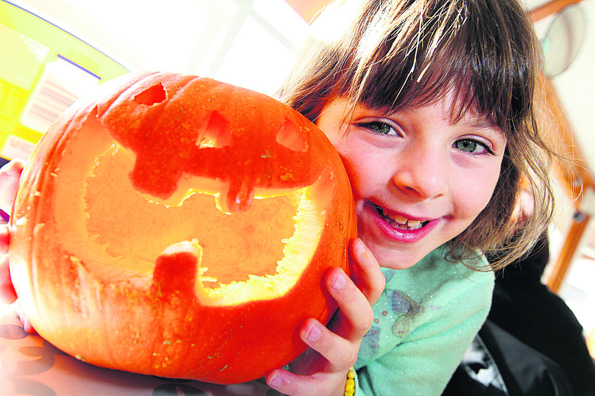 Children enjoy ghoulish goings-on for Halloween