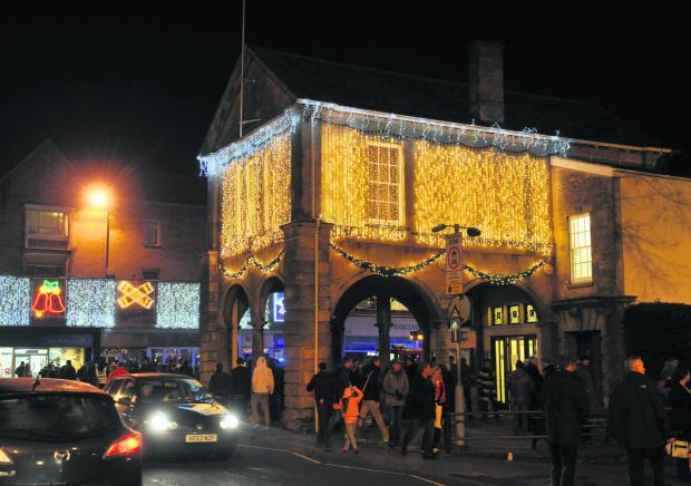 Witney Town Hall last December