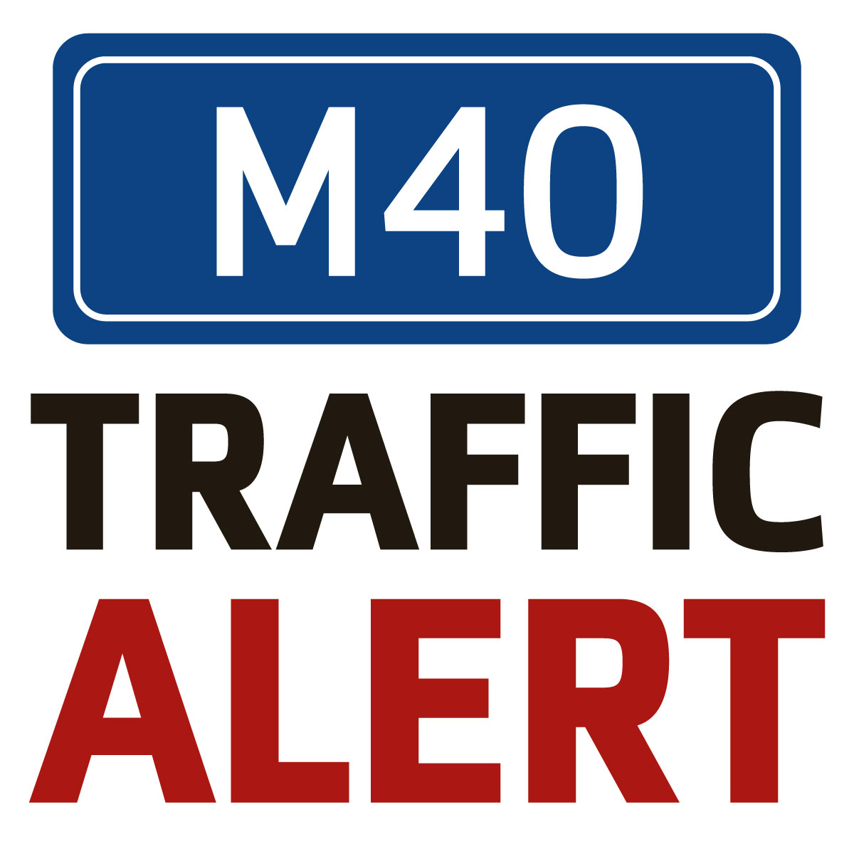 Traffic jam after M40 slip road crash