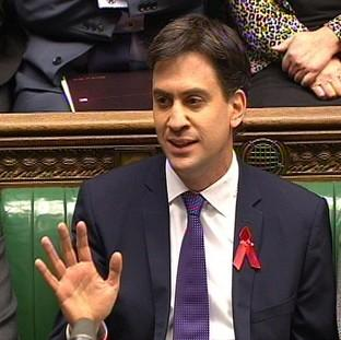 Ed Miliband says Labour is winning the battle of ideas.