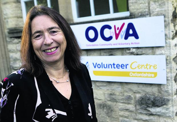 SAYING GOODBYE: Outgoing OCVA chief executive Alison Baxter
