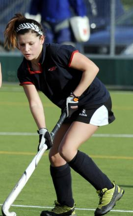 Lucy Reading scored Witney Ladies' opener in the 2-1 win against Oxford Hawks