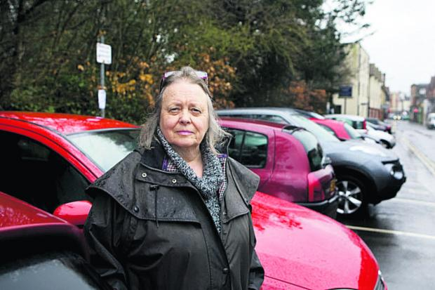 Former Wallingford mayor Ros Lester is opposed to parking charges