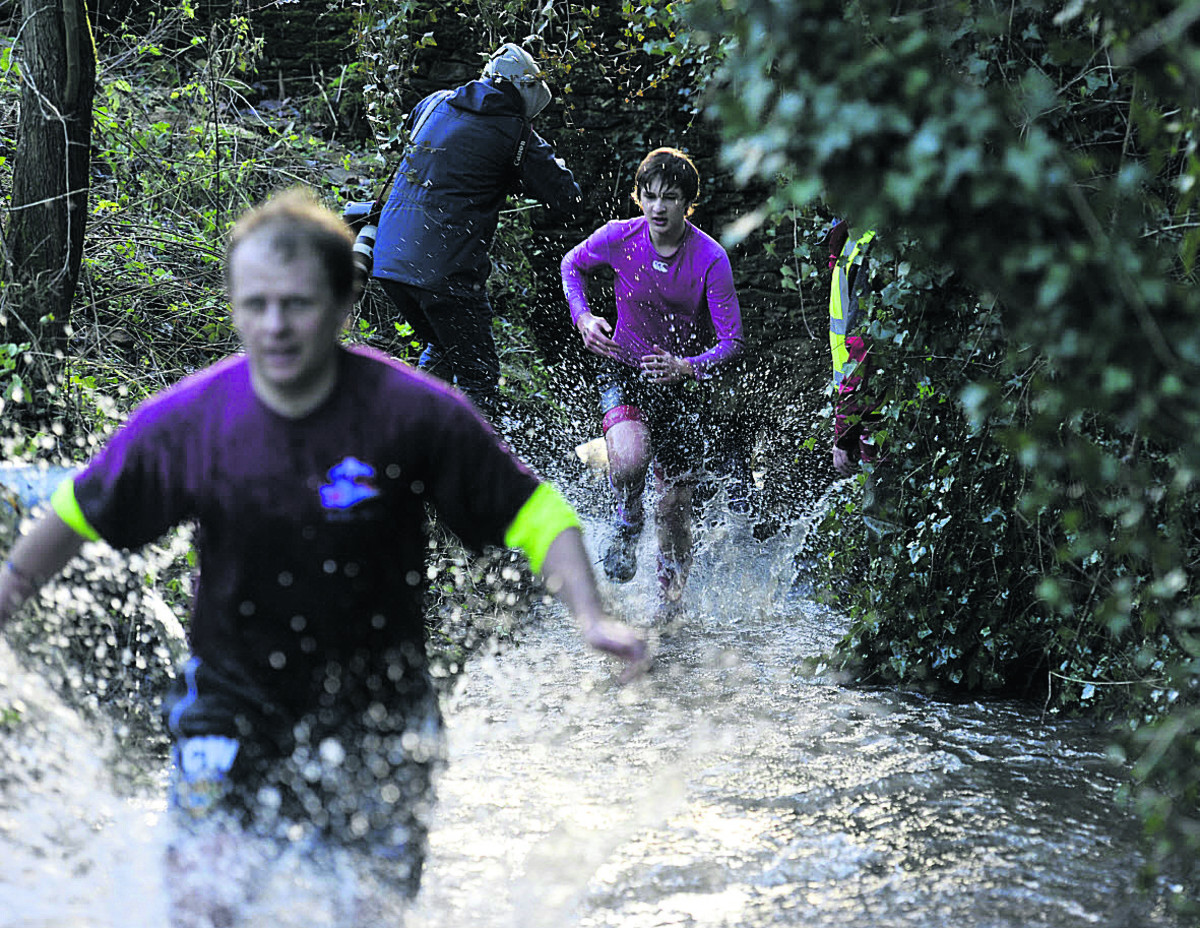 Cameron is absent but 150 brave Great Brook Run