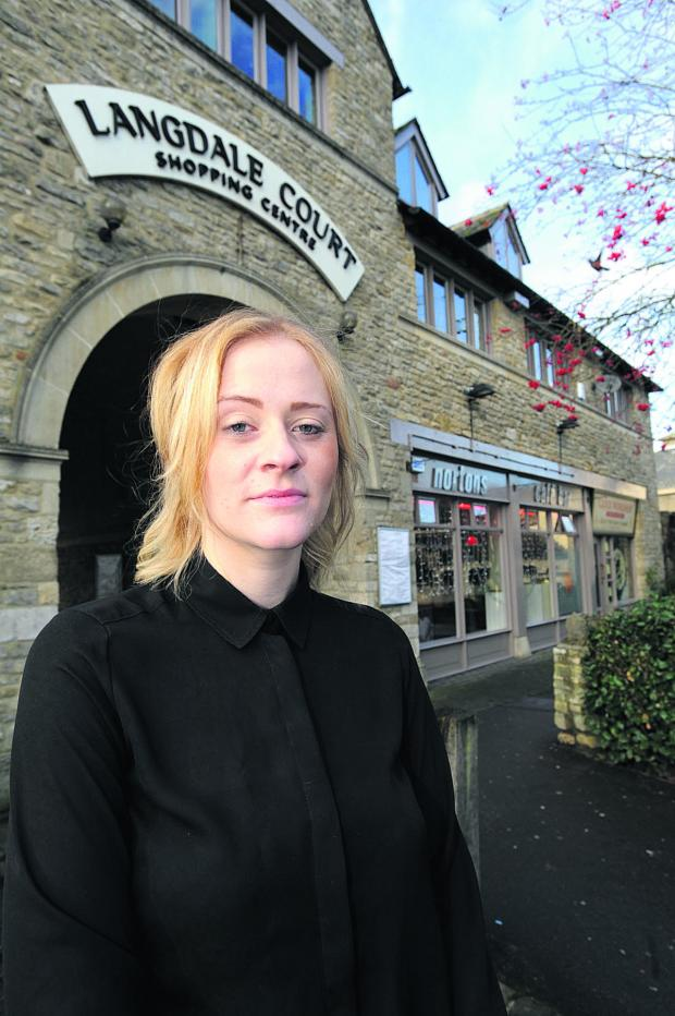 Witney Gazette: CONCERN: Nortons manager Tilly Wates is worried that the bar might close if trade doesn't pick up in the new year