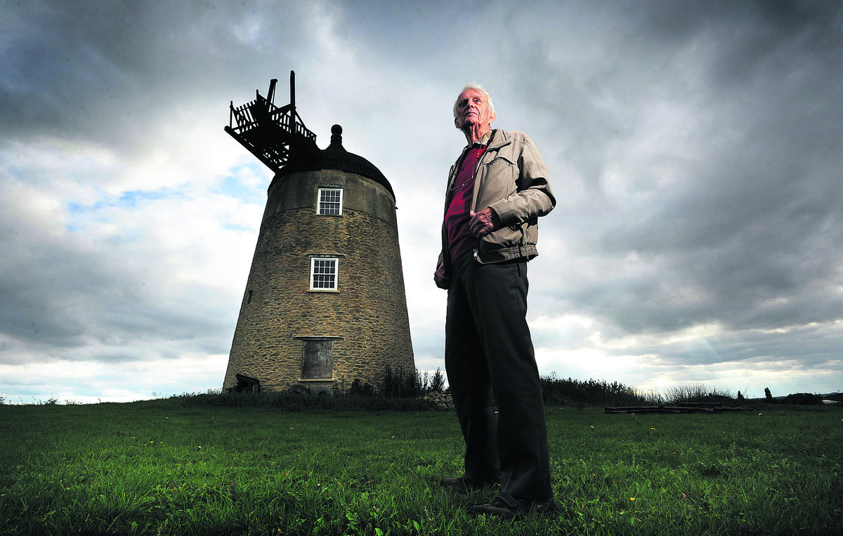 Sir Martin Wood still regards Great Haseley Windmill as unfinished business