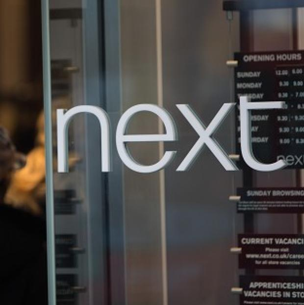 Witney Gazette: Fashion chain Next said sales were strong in the run-up to Christmas