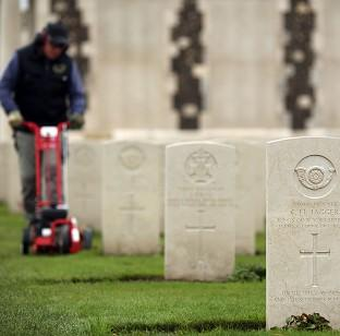Witney Gazette: The Tyne Cot Cemetery and Memorial in Ypres, Belgium, as the Commonwealth War Graves Commission prepares for the centenary of the outbreak of the First World War